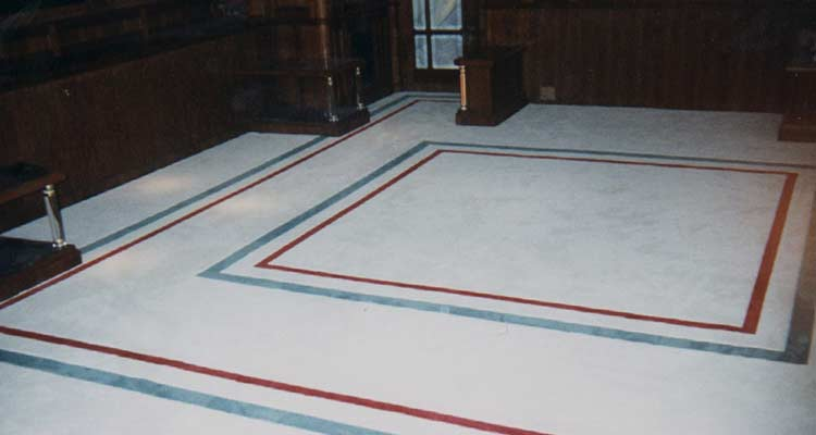 Marine Carpet Installation on a Yacht